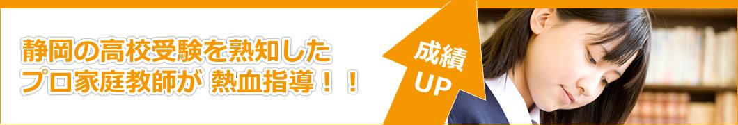静岡の受験を熟知したプロ家庭教師が熱血指導